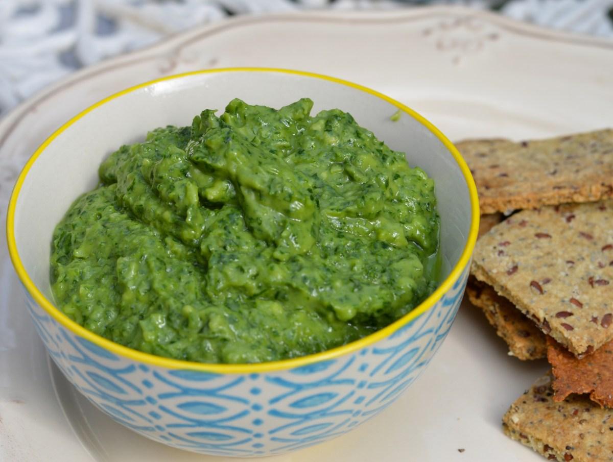 kale and avocado dip