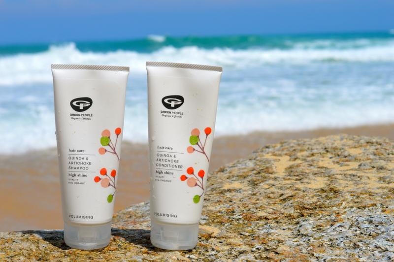 Green People Quinoa & Artichoke Shampoo and Conditioner