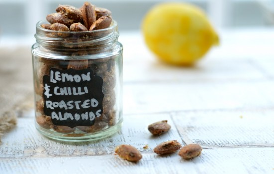Chilli and Lemon Roasted Almonds