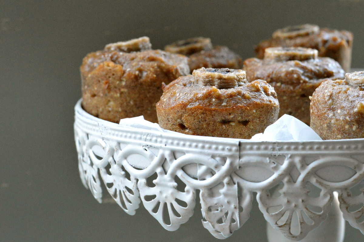 Banana Chia Vegan Muffin