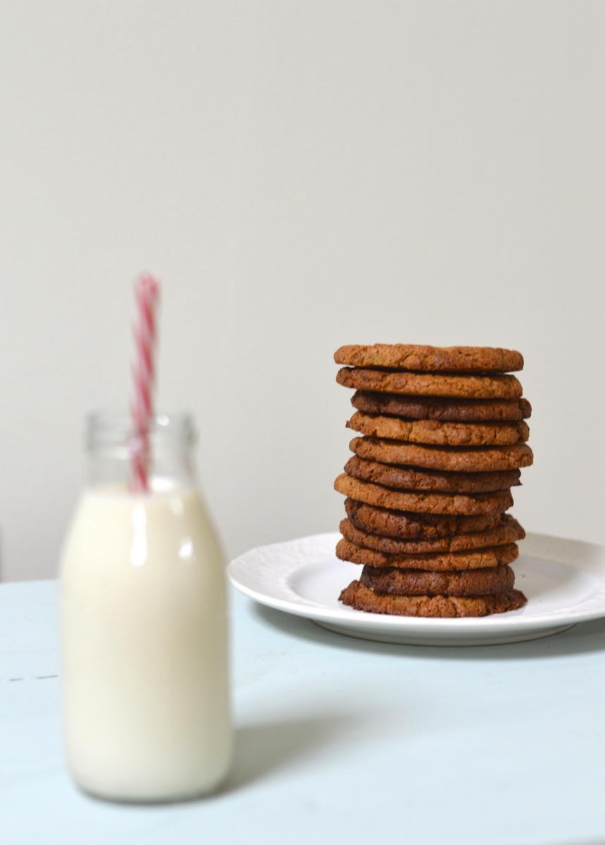 Gingernut Cookies Gluten-Free