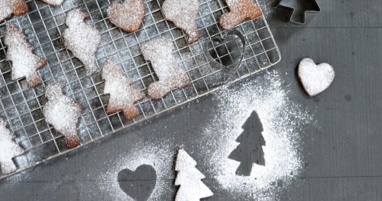 5 Ingredient Cinnamon Spiced Christmas Cookies