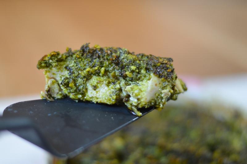 Baked Pesto Paleo Chicken