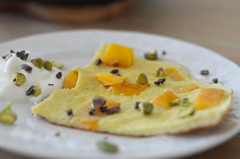 Mango Breakfast Slice