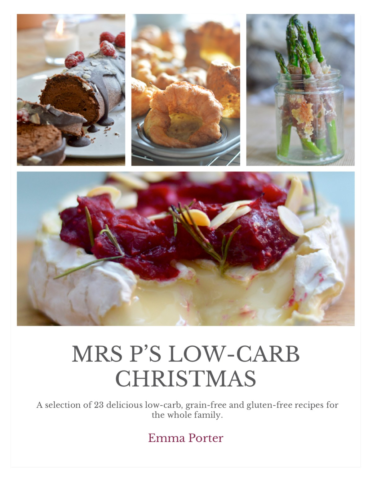 low carb Christmas ebook