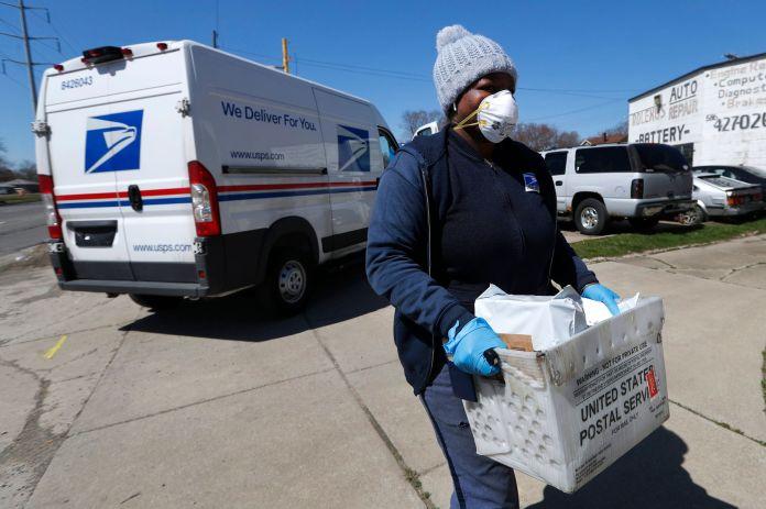 Pandemic logistics - US postal service