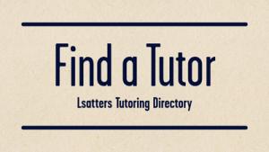 Find an LSAT Tutor