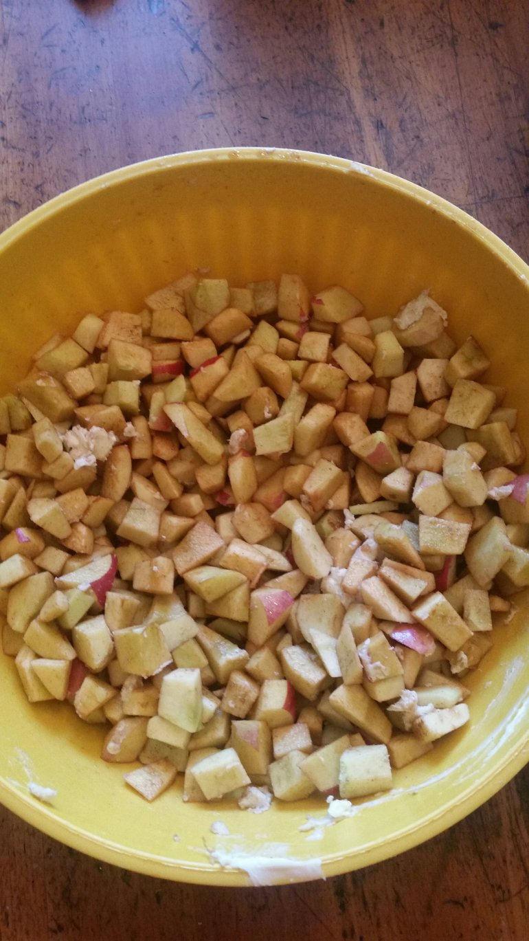 How to freeze Apple pie filling - quick and easy!