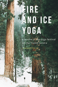 A winter yoga festival for the soul