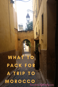 What to Pack for your Trip to Morocco | Luxuriously Thrifty