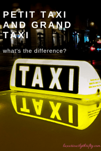 How to Take a Cab in Morocco | Luxuriously Thrifty