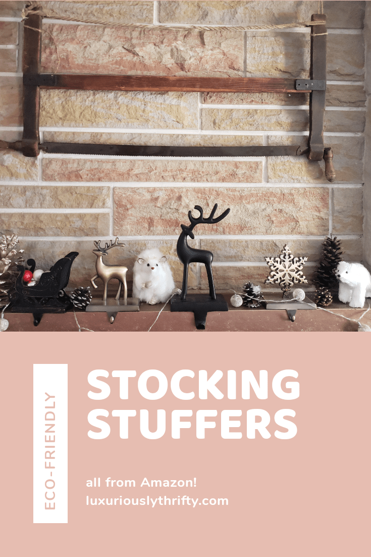 Super easy eco-friendly stocking stuffer ideas - all from Amazon! | Luxuriously Thrifty
