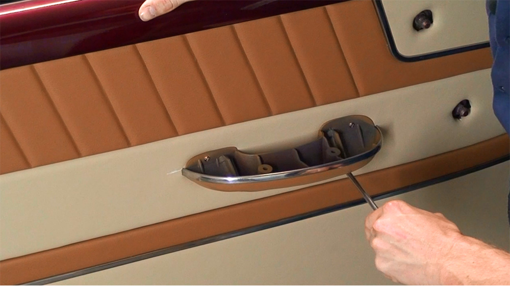 Door Panels and Kick Panels - Upholstery Training Course