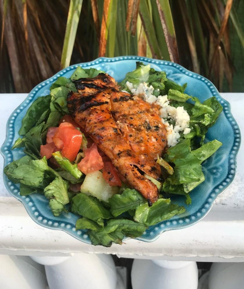 Buffalo Chicken Salad www.theluckywife.life