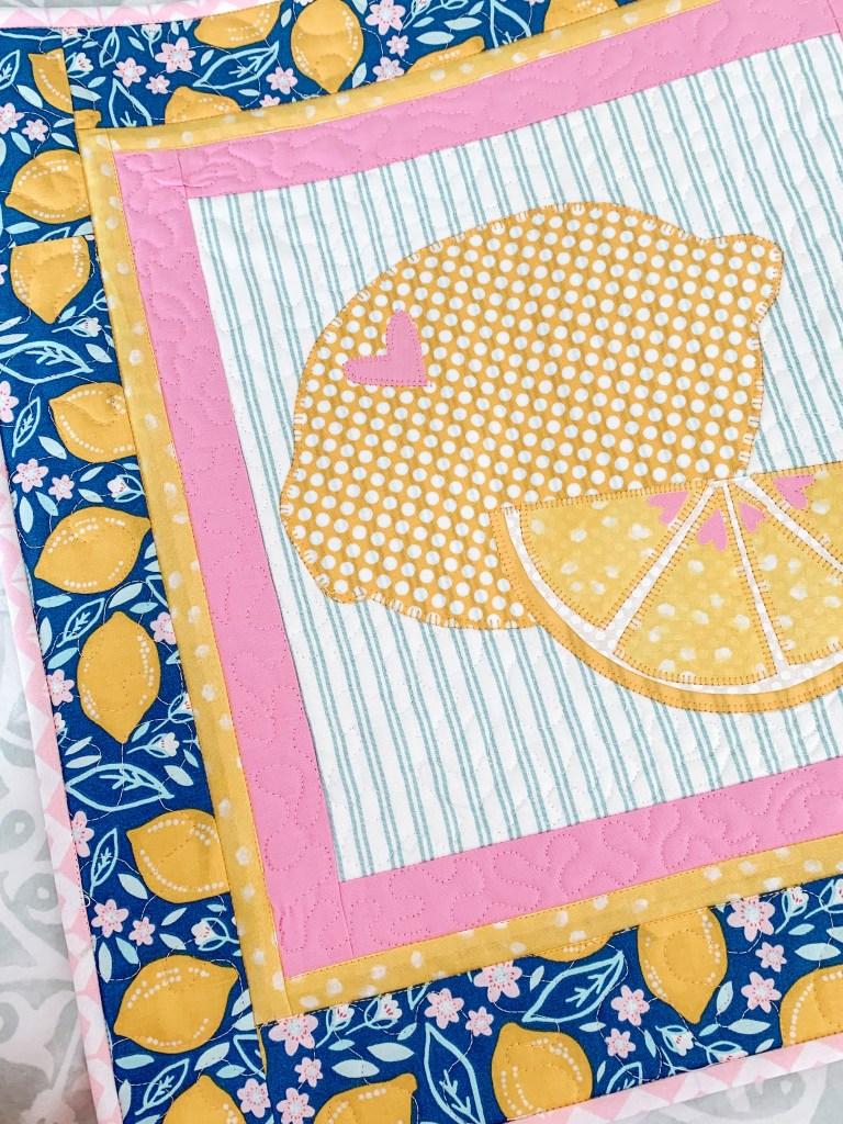 lemon slice quilt