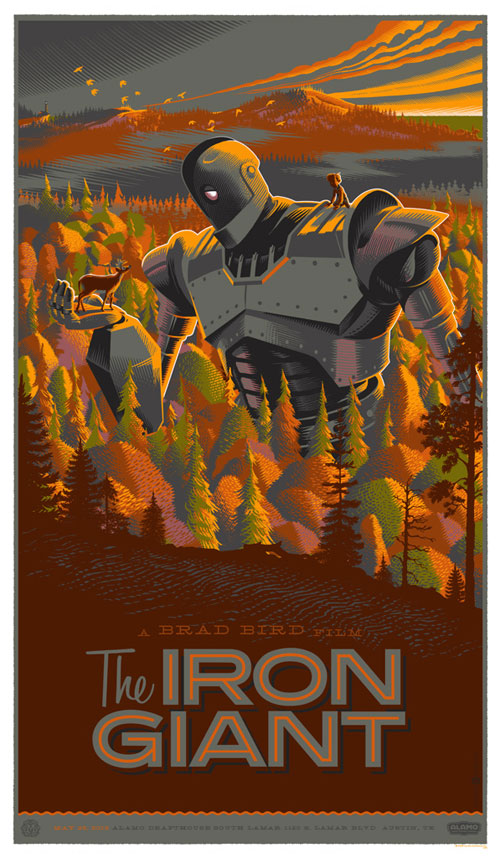 illustrator transforms classic movie