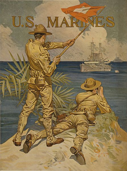 U.S. Marines (1917) by J-C Leyendecker
