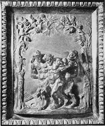 "Claude Michel, ""Drunken Bacchus with satyrs"", third quarter of 18th century"