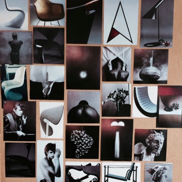 The mood-board for the Fall-Winter 2015 collection