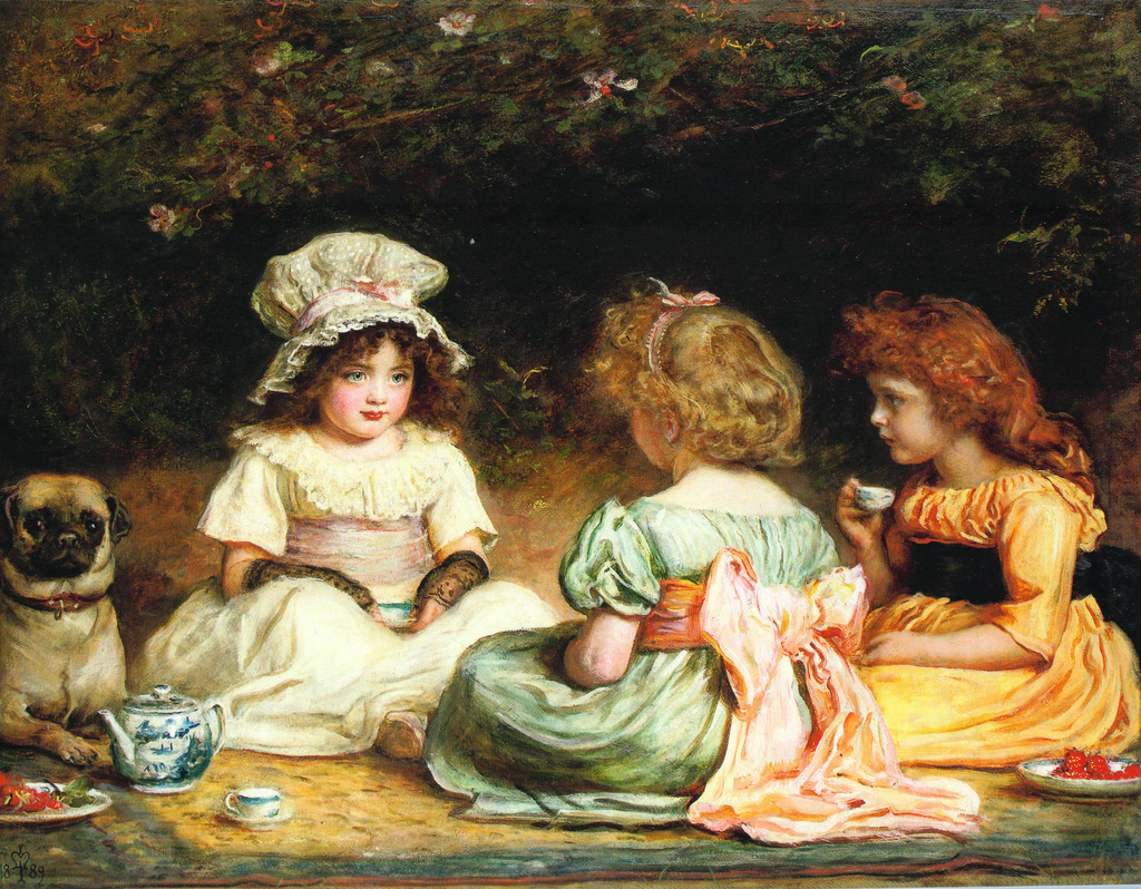 John Everet Millais, Afternoon Tea, 1889