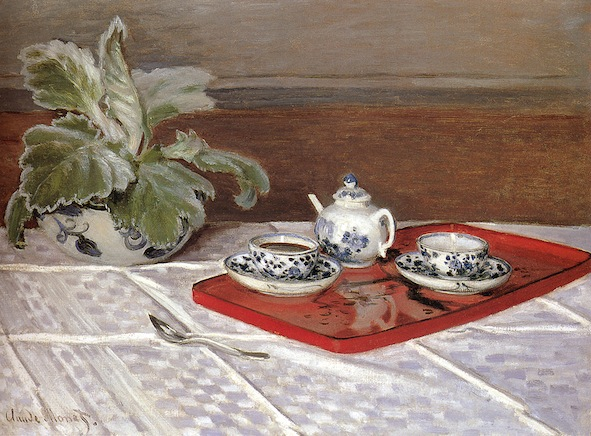 Claude Monet, The Tea Set, 1872