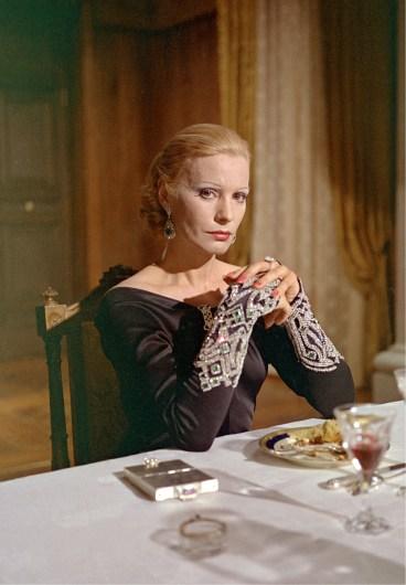 """Ingrid Thulin - """"La caduta degli Dei"""" - Regia Luchino Visconti - 1969 -Copyright Mario Tursi, archivio storico del Cinema"""