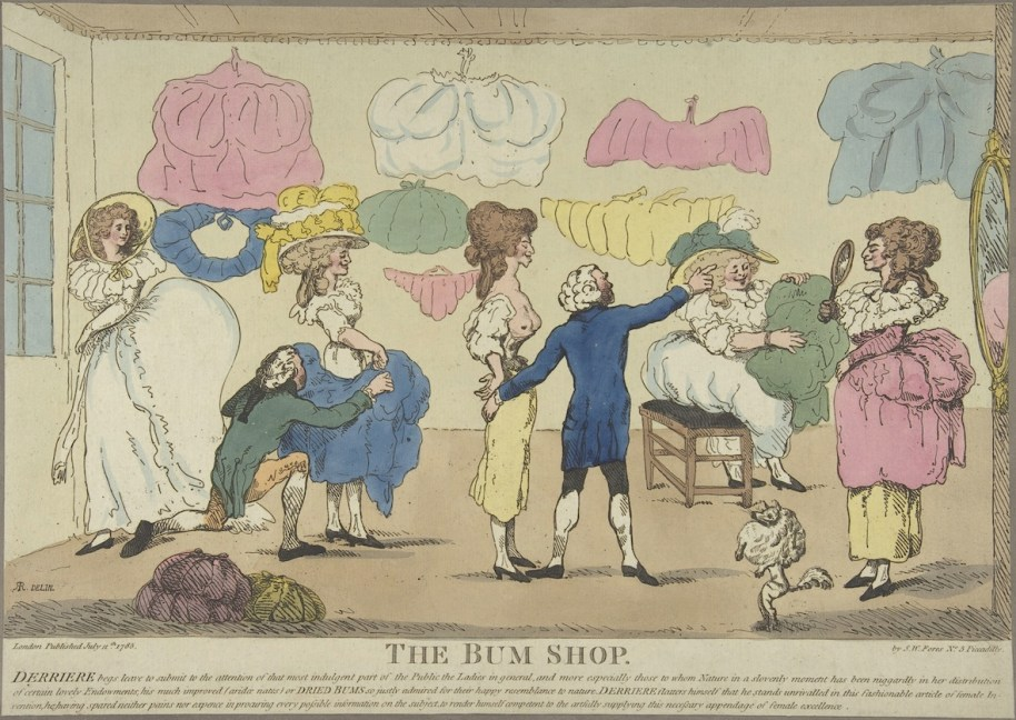 Attributed to R. Rushworth (British, active 1785–86) The Bum Shop 1785