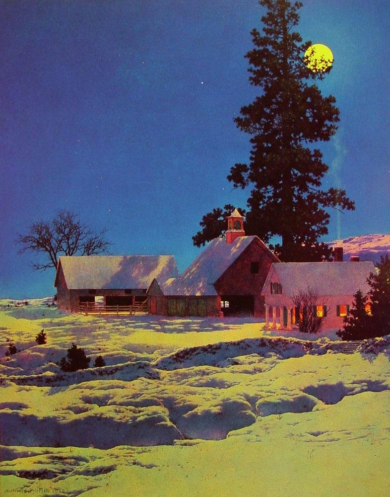 Moonlight Night (Winter) - 1942
