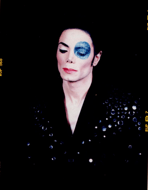 Michael Jackson's Blue Eye,' an unused portrait intended for the singer's 2001 album