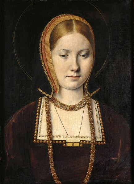 Catherine of Aragon by Michel Sittow