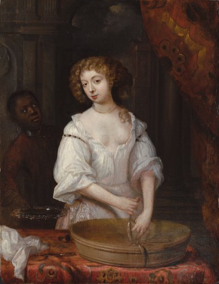 Charles II's mistress Nell Gywn by anonymous painter