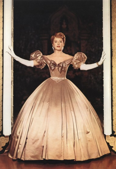 Deborah Kerr as Anna Leonowens in 'The King and I' 1956