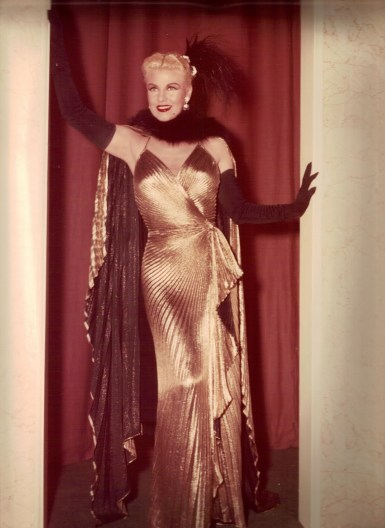 Ginger Rogers in Dreamboat, 1952.