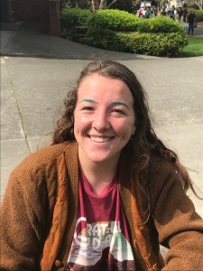 "Sarah Dunn, junior, religious studies. ""I just think it's bulls**t because it's not going to fund something worth funding. No one - no student at least - is going to benefit from it. The CSU system just seems as corrupt as the government that runs it."""