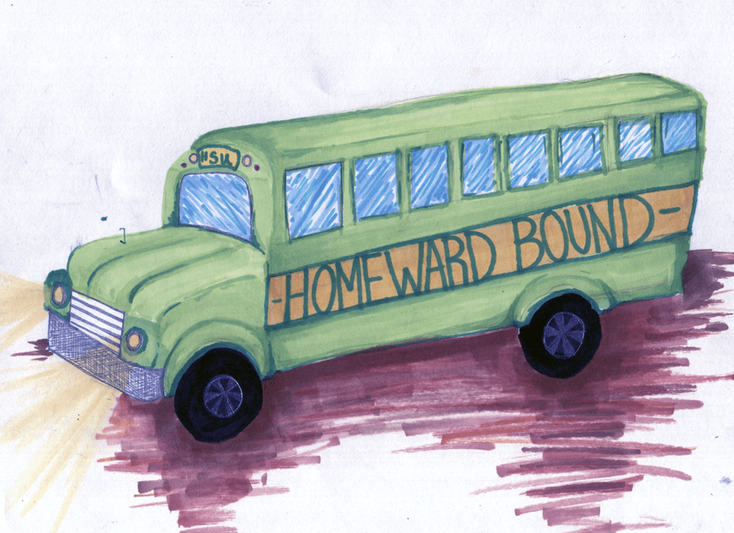 Homeward Bound bus won't break bank
