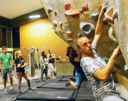 Fear of heights versus rock climbers