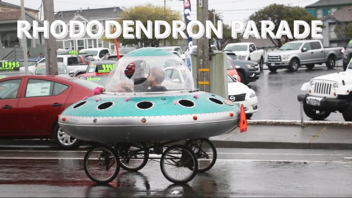 Did you miss the Rhododendron Parade?
