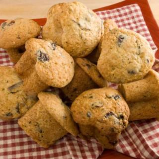 Bittersweet Chocolate & Montmorency Cherry Morning Love Muffins