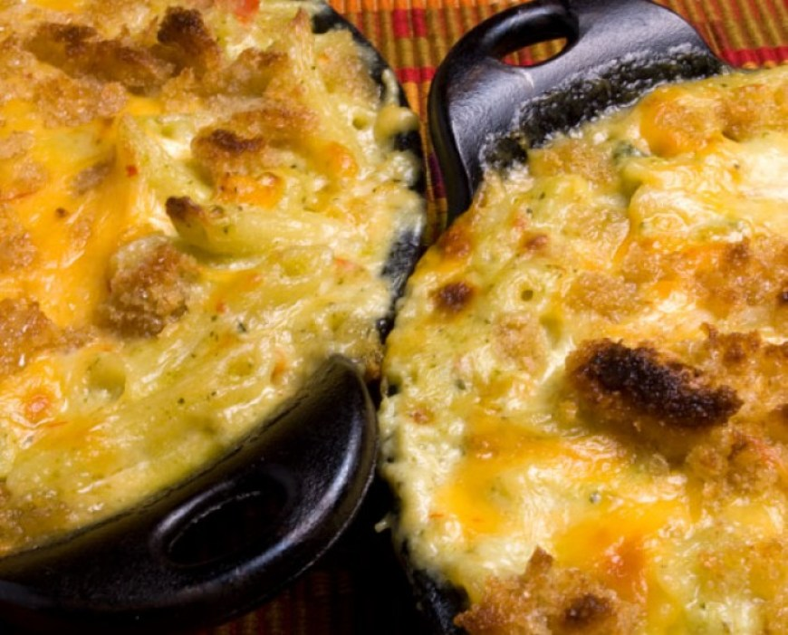 Roaring Fork Green Chile Mac & Cheese | LunaCafe