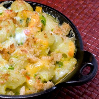 World Famous Green Chile Mac & Cheese