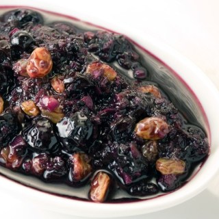 Spicy Blueberry Ginger Chutney