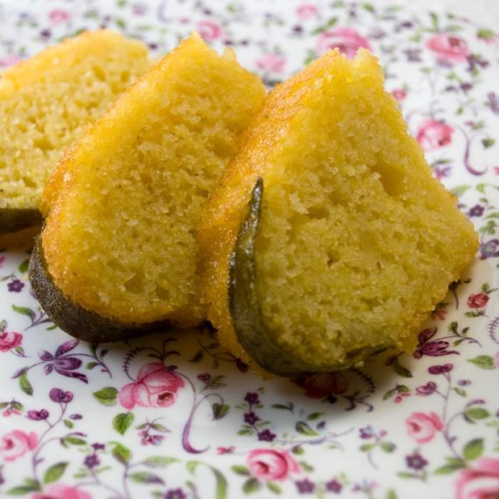Luscious Candied Lemon Sage Tea Cake, | LunaCafe