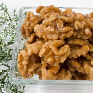 Candied Spiced Walnuts or Pecans