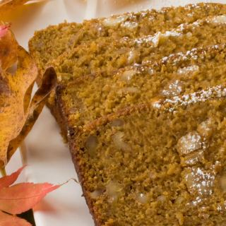 Pumpkin, Spice & Everything Nice Tea Bread