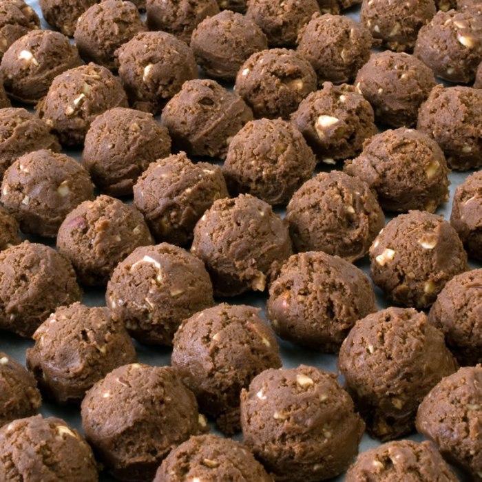 Mocha Java Hazelnut Cookie Balls