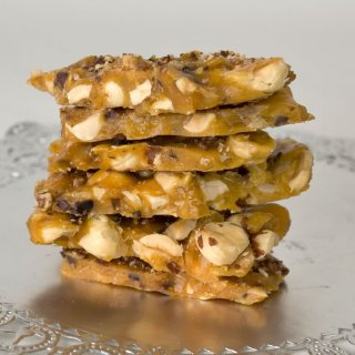 Toasted Hazelnut, Honey & Garam Masala Brittle