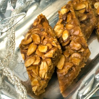 Brown Butter, Toasted Almond & Toffee Shortbread