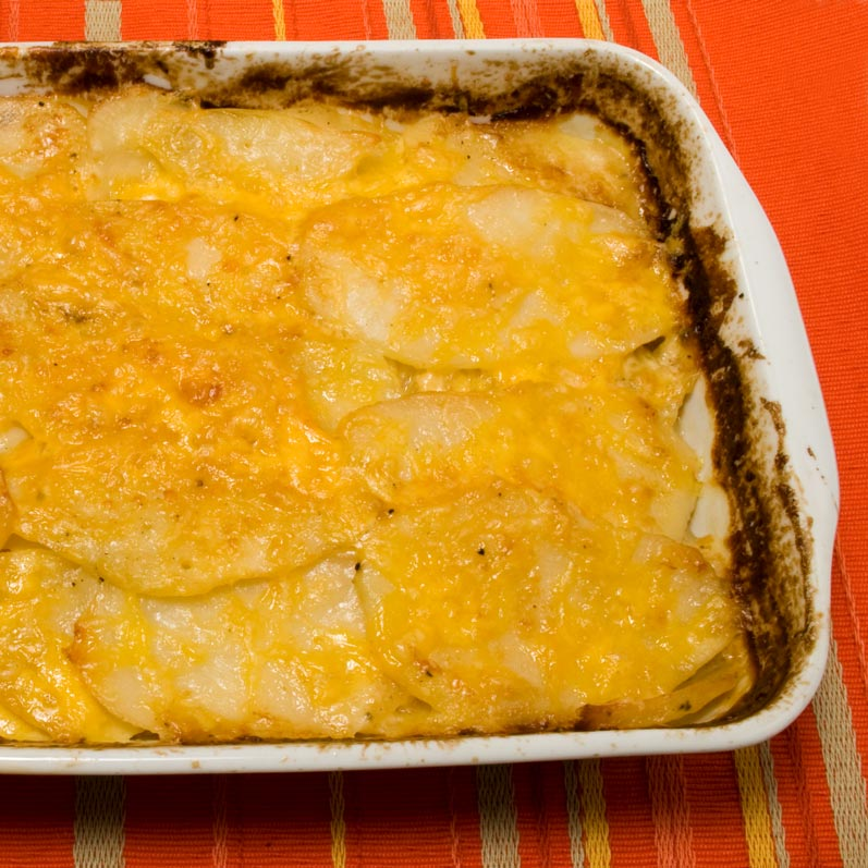 Cooked Potato Gratin