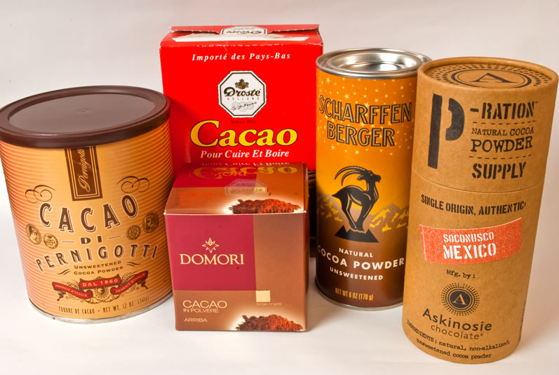 The Wonderful World of Unsweetened Cocoa Powder: Comparison of 17 Cocoa Powders