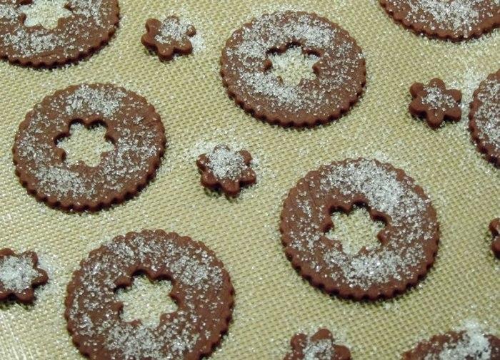 Chocolate & Warm Winter Spice Butter Crisps | LunaCafe